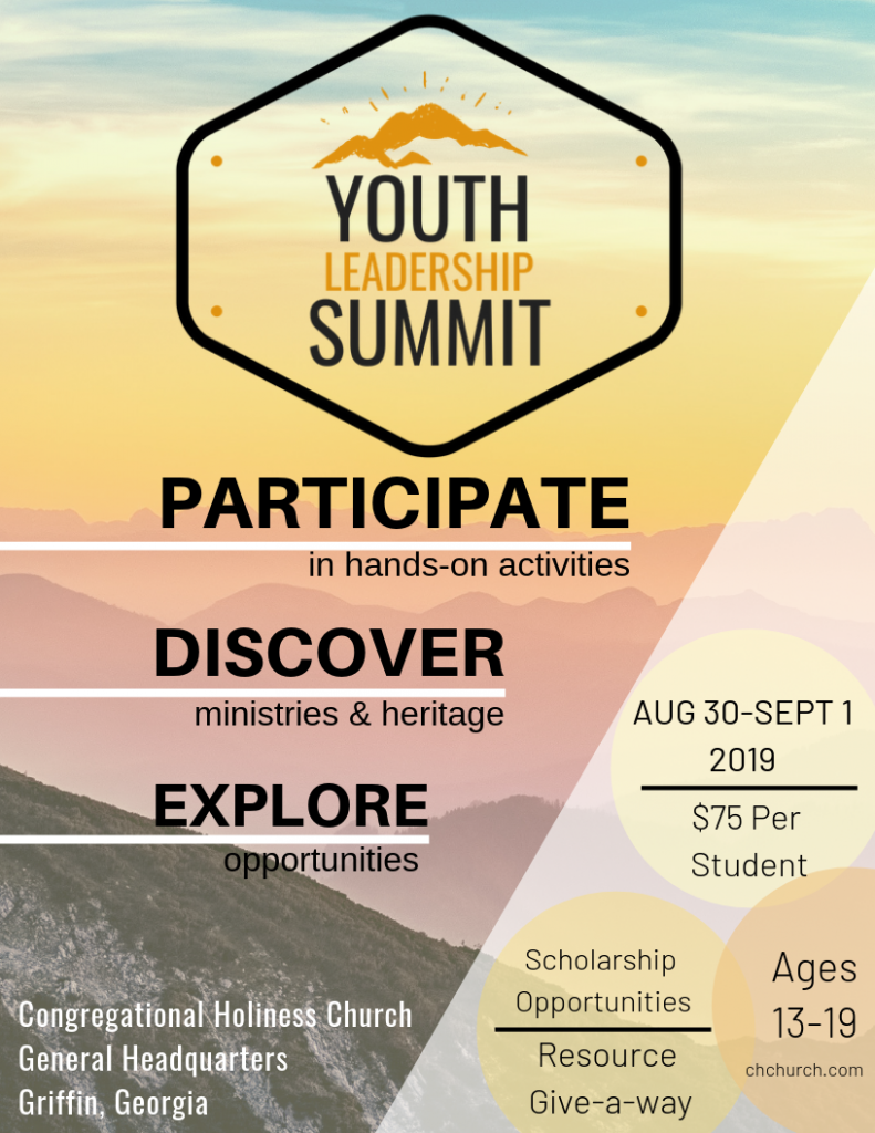 Youth Leadership Summit Flyer PNG