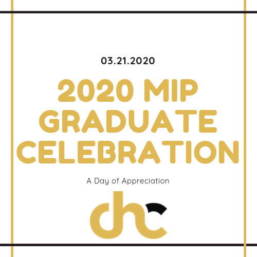 Copy of 2020 MIP Graduate Celebration