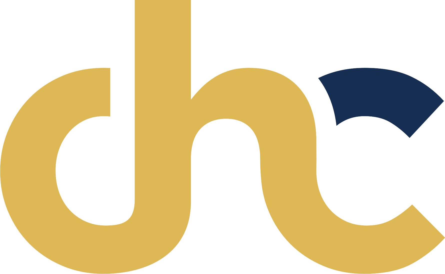 logo CHC gold blue
