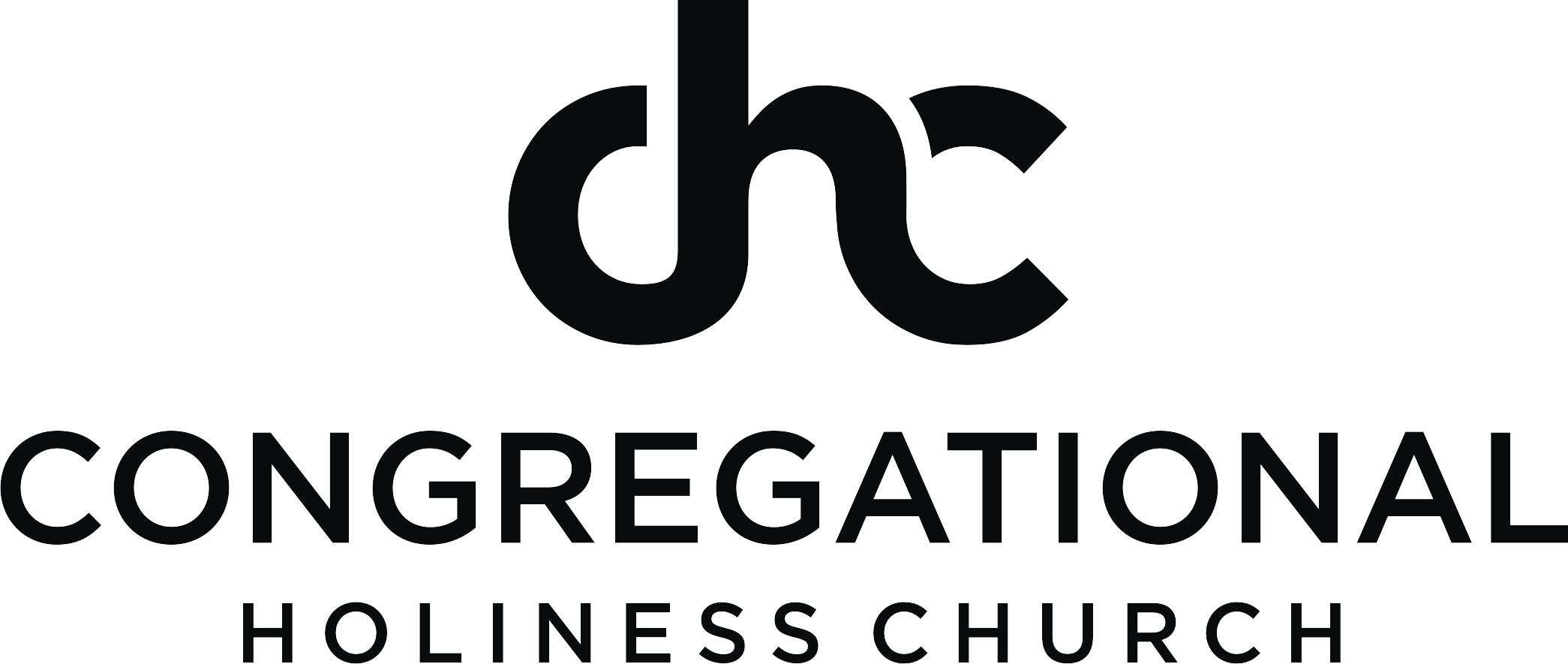 logo Congregational Holiness Church black