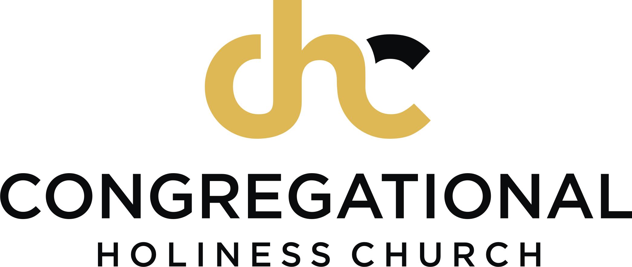 logo Congregational Holiness Church gold black