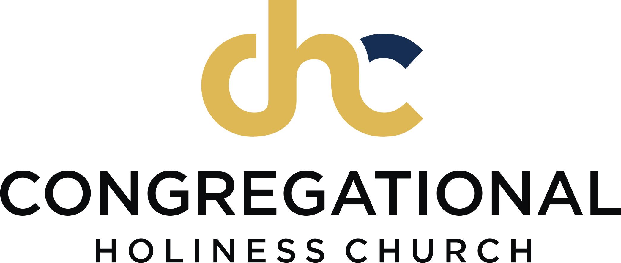 logo Congregational Holiness Church gold blue