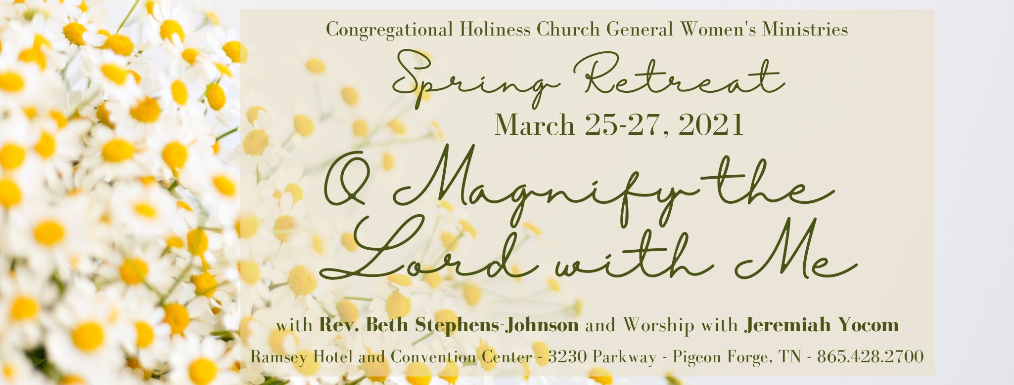 Congregational Holiness Church General Women's Ministries